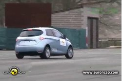 Video Renault ZOE ESC Test