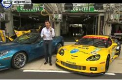 Video Corvette ZR1 Comparativa con modelo C6R