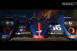 Video Renault Alpine A110-50 Regreso Le Mans