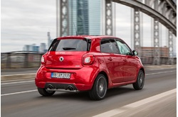 Fotos coches Smart  Smart  BRABUS forfour 109 CV twinamic