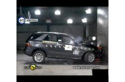 Mercedes-Benz Clase M Crash Test