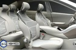 Video Mercedes-Benz F800 Style Interior