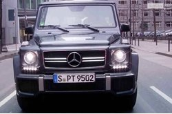 Video Mercedes-Benz Clase G 63 AMG Exterior