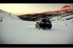 Video BMW X3 Conducción Nieve