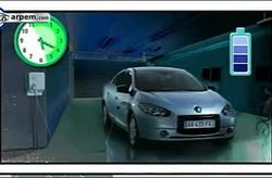 Video Renault Fluence Z.E. Wall Box