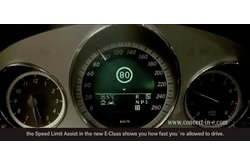 Mercedes-Benz Clase E Speed Limit Assist