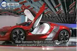 Video Renault DeZir Concept París 2010