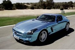 Mercedes-Benz SLS AMG Electric Drive Trailer