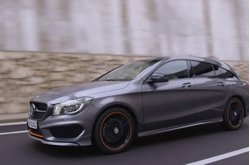 Vídeo Mercedes-Benz CLA 250 4Matic Shooting Brake Circulando