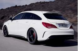 Vídeo Mercedes-Benz CLA 45 AMG Shooting Brake Circulando