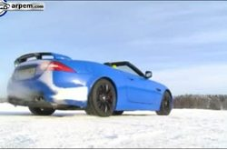 Video Jaguar XKR-S Conducción Nieve