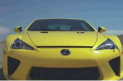 Video Lexus LFA Test