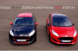 Ford Fiesta Black y Red Edition