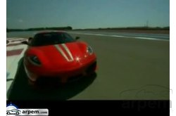 Video Ferrari F430 Spider Escudería Circuito