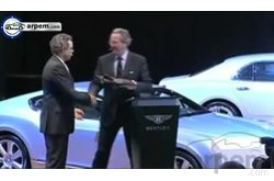 Video Bentley Detroit Motor Show 2011