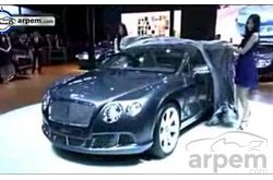 Video Bentley Shanghai Motor Show 2011