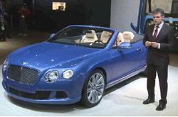 Video Bentley Salón Detroit 2013