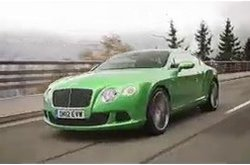 Bentley Continental GT Speed Movimiento