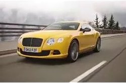 Bentley Continental GT Speed Circulando
