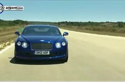 Bentley Continental GT Speed Circuito Nardo