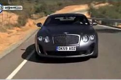 Bentley Continental Supersports 2009 Carretera