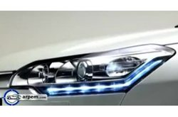 Citroën C5 Luces diurnas Led