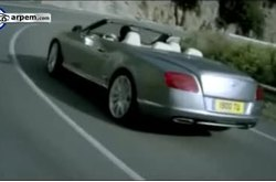 Bentley Continental GTC Spot TV