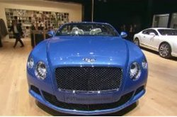 Bentley Continental GT Speed Convertible Auto Show