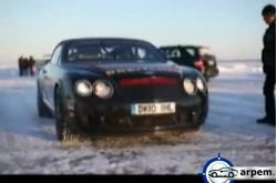Bentley Continental Supersports Ice speed Record
