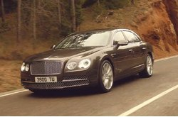 Video Bentley Continental Flying Spur Circulando