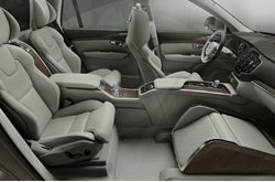 Volvo XC90 Excellence Lounge Console 2015 Trailer