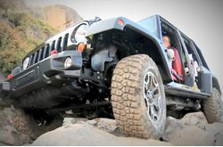 Video Jeep Rubicon Trail 2013