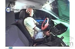 Ford B-Max Crash Test Lateral