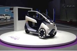 Video Toyota i-Road Ginebra 2013