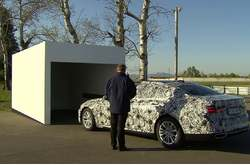 BMW Serie 7 2015 Prototipo parking remoto