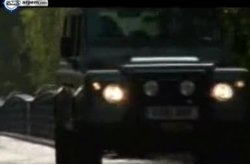 Land Rover Defender Movimiento