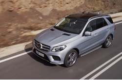 Vídeo Mercedes-Benz GLE 500e 4MATIC 2016 Dinámico