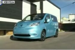 Video Nissan e-NV 200 Detalles