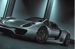 Video Porsche 918 Spyder Concept Car Detalles