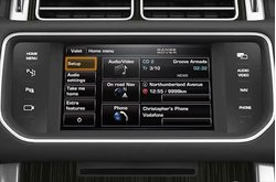 Video vehiculo Range Rover Consola