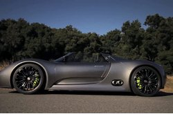 Video Porsche 918 Spyder Concept Car Carretera