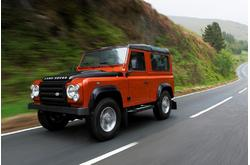 Land Rover Defender Fire 2007