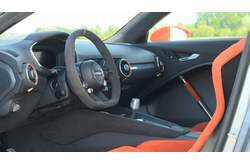 Audi TT clubsport turbo Concept Interior