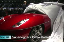 Video Touring Superleggera Disco Volante Ginebra 2012