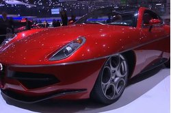 Video Touring Superleggera Disco Volante Stand Ginebra 2013