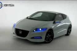 Video Honda CR-Z Concept Detalles