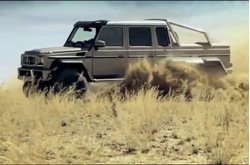 Video Mercedes-Benz Clase G 63 AMG 6X6