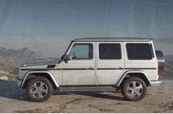 Video Mercedes-Benz Clase G Circulando