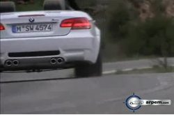 BMW Serie 3 M3 Cabrio Driving Shots