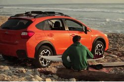 Subaru XV Crosstrek Surfing Day